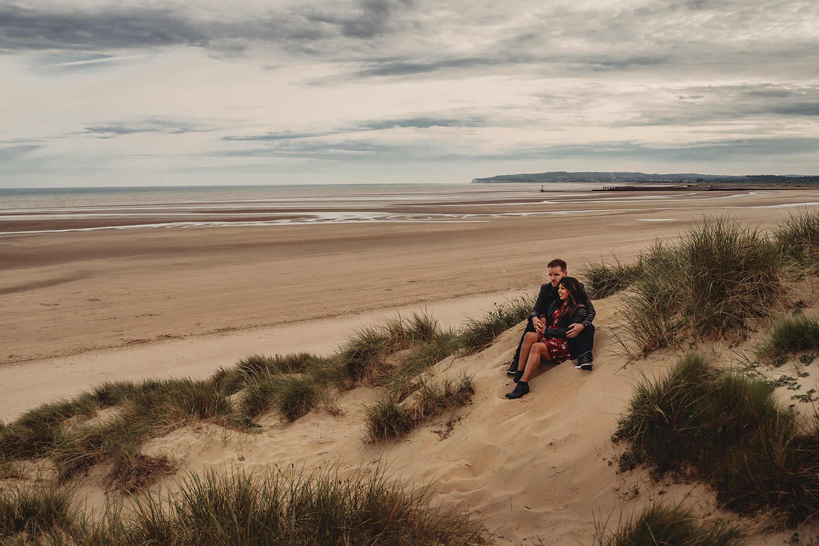 Couple in the Camber Sands